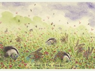 Two Bad Mice a day in the meadow kaart